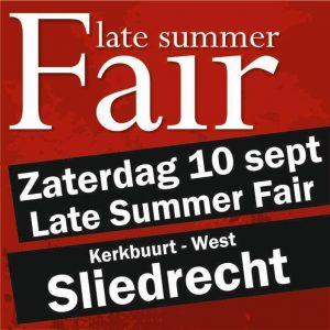 Late summer fair 2016